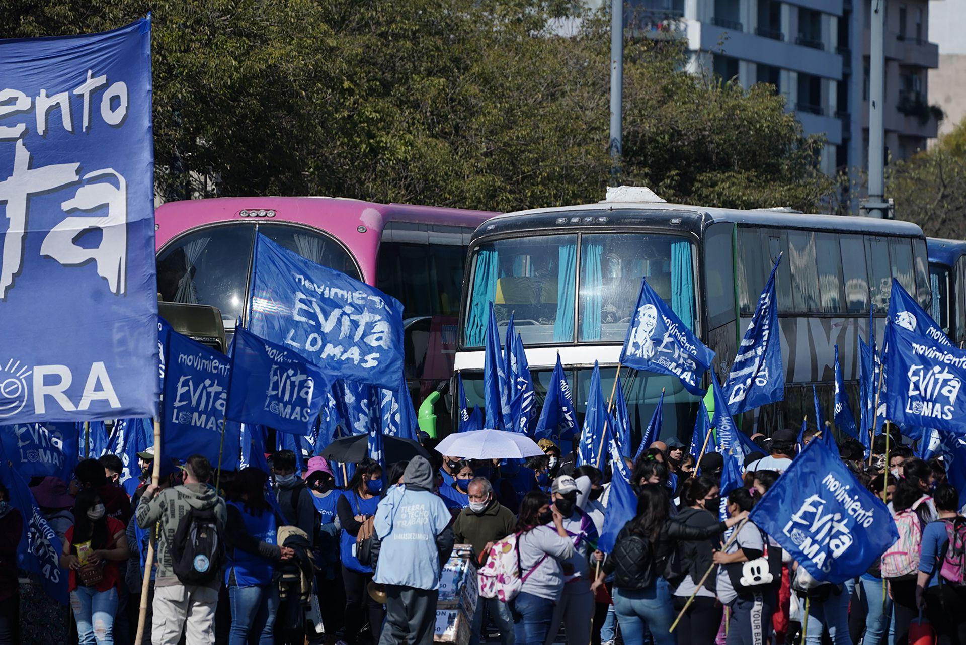 Movilizacion movimientos sociales san cayetano 2021