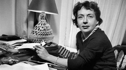 La escritora y guionista francesa Marguerite Duras