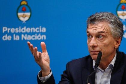 En la imagen, el expresidente de Argentina, Mauricio Macri. EFE/Juan Ignacio Roncoroni/Archivo