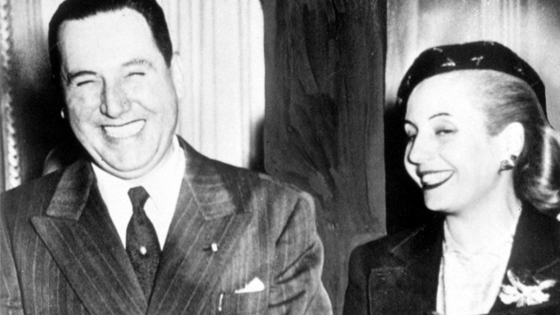 La bancada oficialista aprovechaba meter entre las leyes que se votaban los homenajes a Perón y Evita (Everett/Shutterstock)