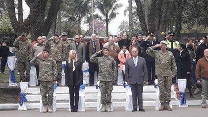 El homenaje a los caídos en el combate de Potrero Negro se realizó en Tucumán