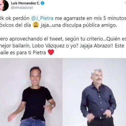 La publicación del Matador Hernández lleva más de 15 mil me gusta y se ha compartido alrededor de mil 500 veces. (Foto: Captura de Pantalla/ Twitter @elmatadorpr)