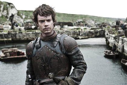 Theon Greyjoy, en una de las escenas filmadas en el ficticio Puerto Noble