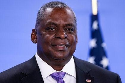 El ministro de Defensa de los Estados Unidos, Lloyd Austin. Foto: Kenzo Tribouillard/via Reuters
