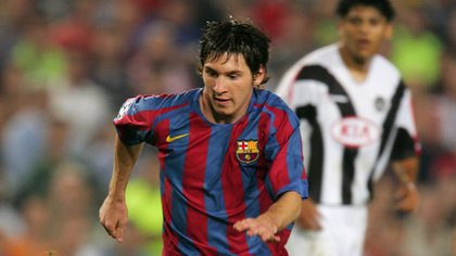 The 2003/04 season marked a before and an after in the life of Lionel Messi