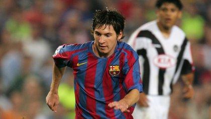 La temporada 2003/04 marcó un antes y un después en la vida de Lionel Messi