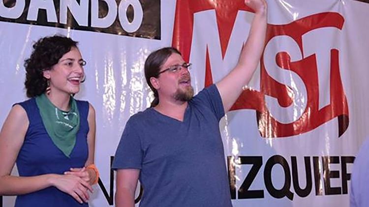 El precandidato de la izquierda Luis Meiners
