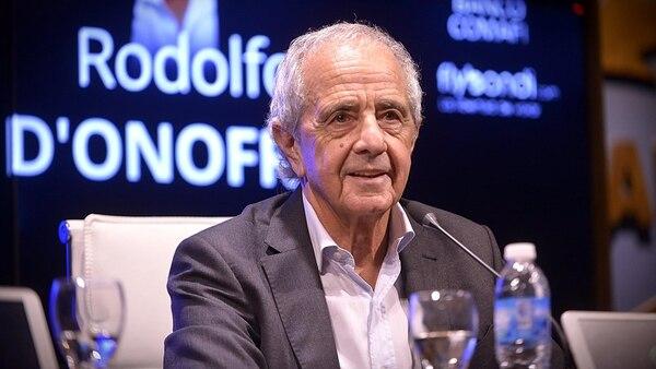 """D'Onofrio diseña el plan del """"nuevo Monumental"""" (Gustavo Gavotti)"""