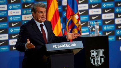 Joan Laporta rompió el silencio y sorprendió con la postura del Barcelona sobre la Superliga europea en medio de la estampida de clubes