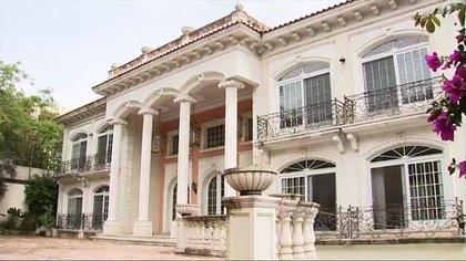 El palacio de Zhenli Ye Gon, una de las propiedades más llamativas de las que han sido incautadas por el gobierno (Foto: Archivo)