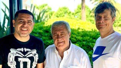 Riquelme será candidato en la lista de Jorge Amor Ameal (Foto: @AmealJorgeAmor)