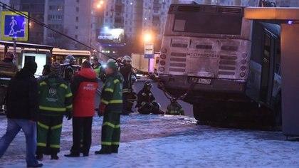 Al menos cinco personas murieron y 15 resultaron heridas (Reuters)