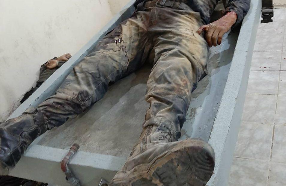 Cinco policías estatales de Oaxaca murieron durante una emboscada (Foto: Cortesía)