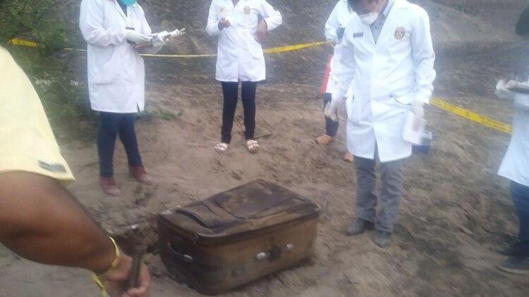 0bd00c1c5 Conmoción en Perú: hallaron en una maleta los restos carbonizados de ...