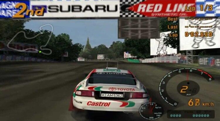 Se publicó para PlayStation 2, en 2001