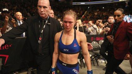 Ronda Rousey cobró USD 3 millones a pesar de su derrota en 48 segundos ante Amanda Nunes (AFP)