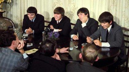 La fugaz formación de lso Beatles en 1964