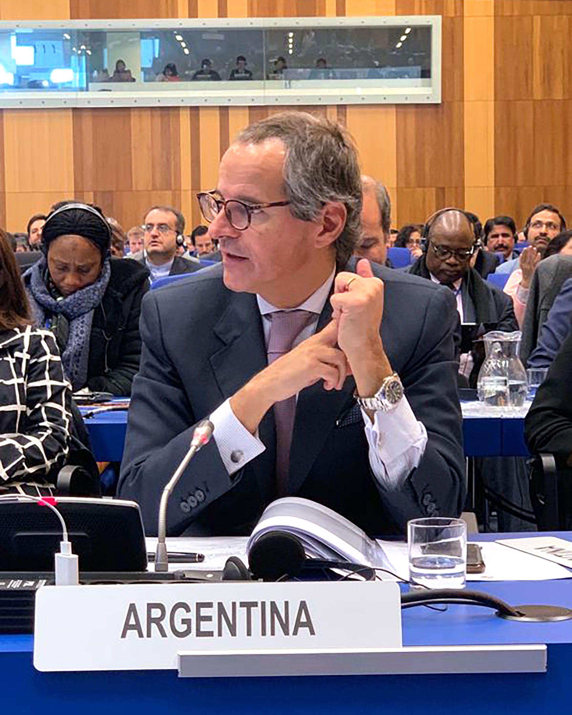 Embajador Rossi. Macri avaló su candidatura en la OIEA