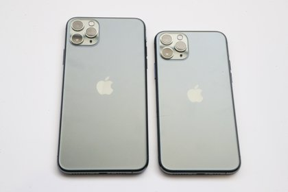 iPhone 11 Pro y iPhone 11 Pro. (Jim Wilson/The New York Times)
