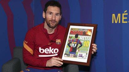 Messi fue el máximo goleador de La Liga 2019/20, séptima vez que lo consigue, más veces que cualquier otro futbolista