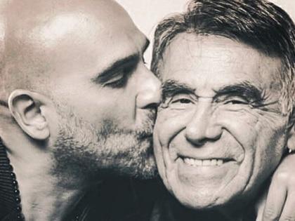 """""""¿Cómo hago para dejar de sentir tanto dolor?"""", se preguntó Héctor Suárez Gomís sobre la muerte de su padre (IG: pelongomis)"""