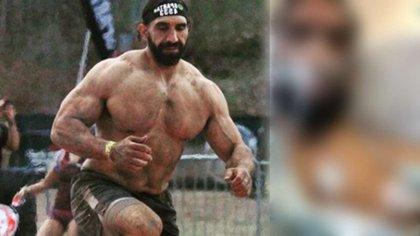 Ahmad Ayyad en una competencia física