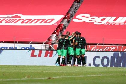 El primer equipo que sufrió un brote en su plantel fue Santos Laguna de la Liga MX (Foto: Cortesía/ Club Santos)