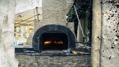 El horno en el jardín de la casa del cónsul presuntamente usado para quemar los restos de Khashoggi (Al Jazeera)
