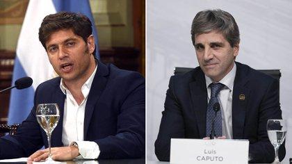 """El ex secretario de Finanzas Luis Caputo, elogió al gobernador de la provincia de Buenos Aires Axel Kicillof por """"recular"""" y tomar la decisión correcta con respecto al pago del bono BP21."""