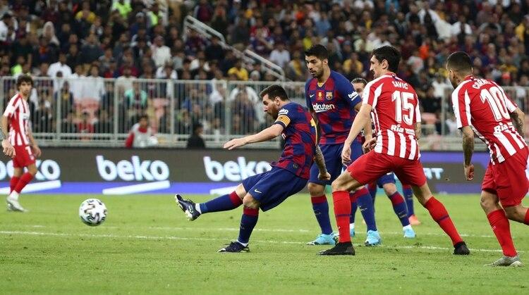 Messi puso el 1 a 1 (Reuters)