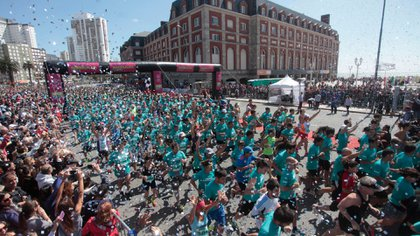 La Maratón Internacional de Mar del Plata tendrá una nueva edición en noviembre (Télam)