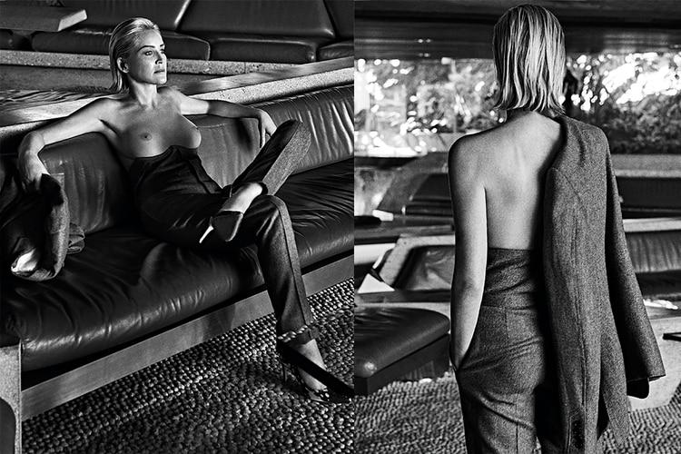 Sharon Stone para la revista Vogue