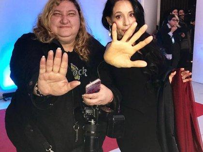 Verónica Guerman y Sonia Braga