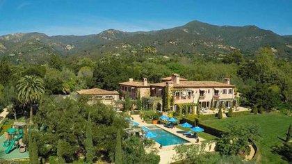 La mansión de Meghan y Harry en Santa Bárbara, California