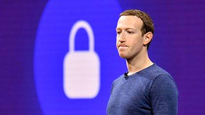 Mark Zuckerberg, fundador y CEO de Facebook (AFP)