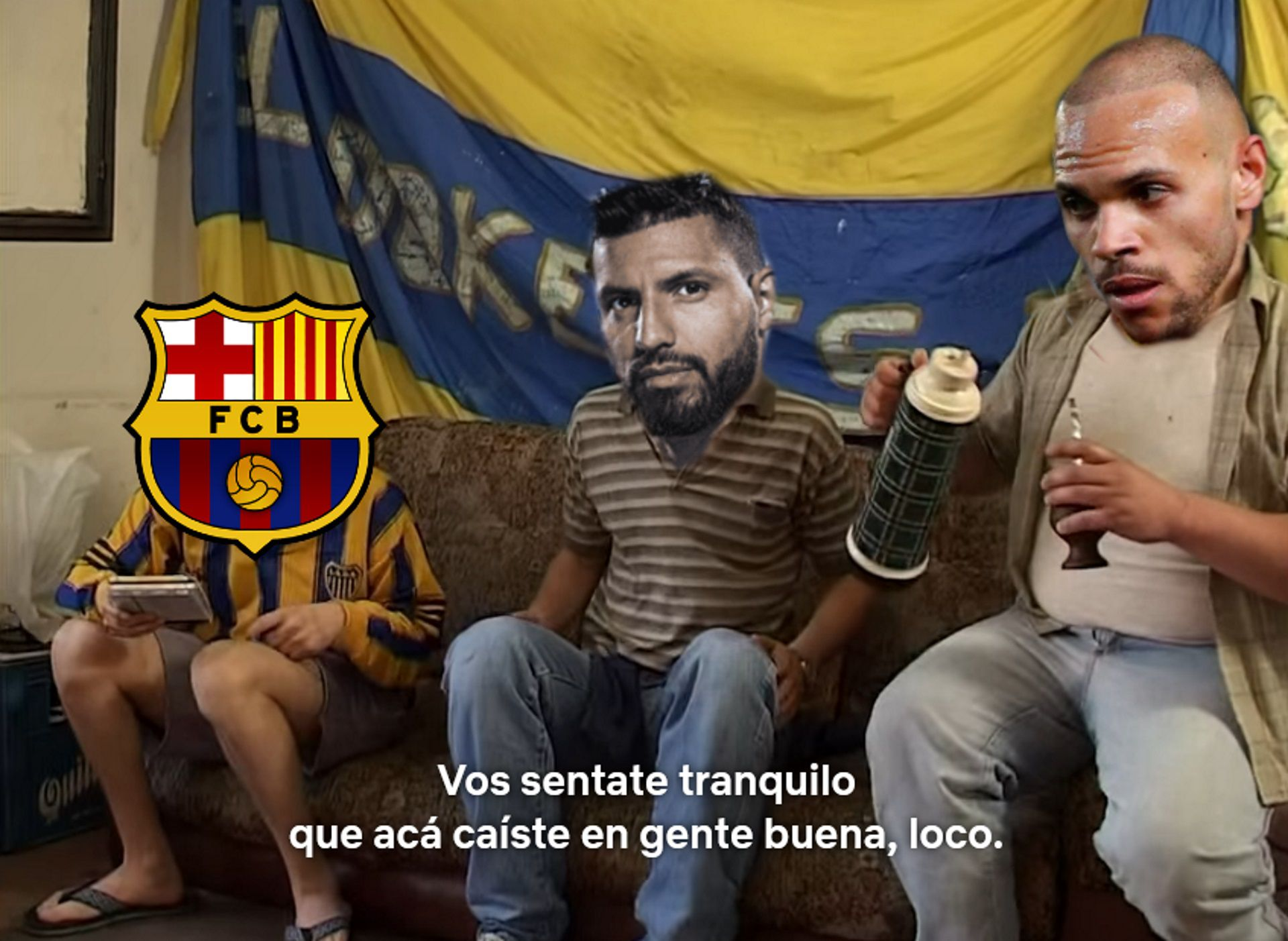 Memes Meme Barcelona Messi Aguero