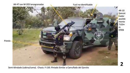 Análisis del video de Propaganda de la Columna Fuerza de Elite del CJNG (Foto: Dr. David E. Spencer)