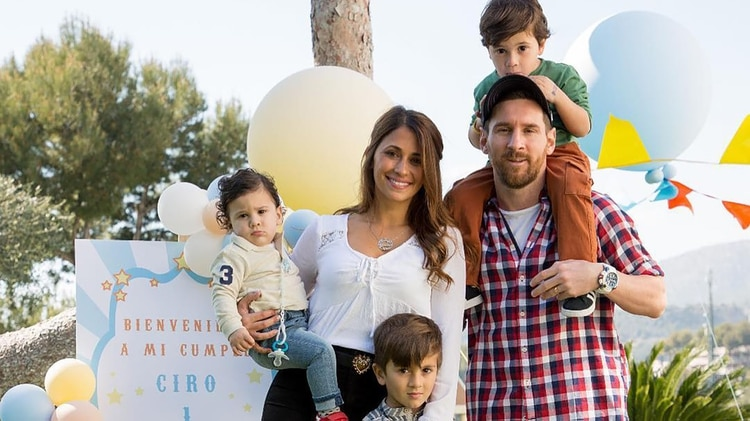 Lionel Messi contó detalles de su vida familiar (@antoroccuzzo88)