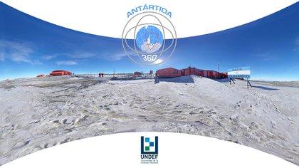 El documental Antártida360 significa una producción única nunca antes realizada (Universidad de la Defensa Nacional)