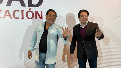 Mario Delgado ha reiterado su apoyo al senador con licencia (Foto: Twitter / @FelixSalMac)