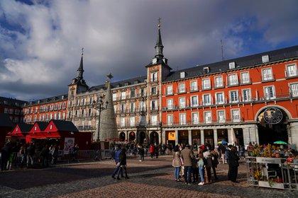Plaza Mayor en Madrid,España. REUTERS/Juan Medina
