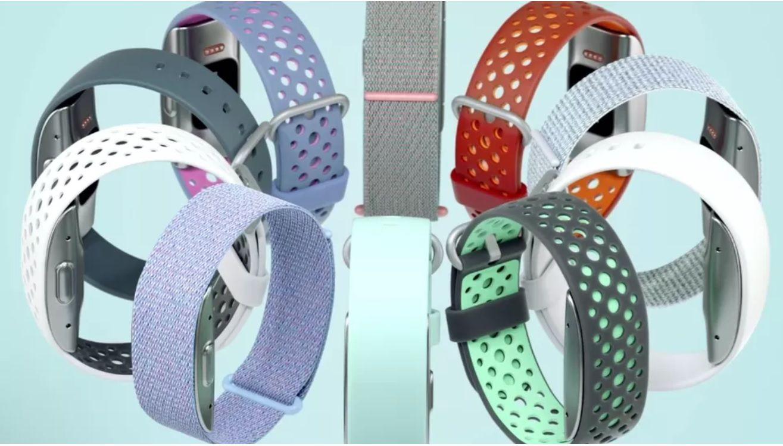 La pulsera de Amazon Halo viene en varios diseños