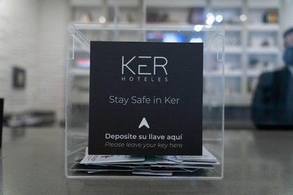 El programa Stay Safe del hotel Ker incluye check out con distancia social