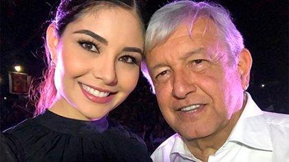 """La diputada calificó a López Obrador como el """"mejor presidente"""" (Foto: Especial)"""