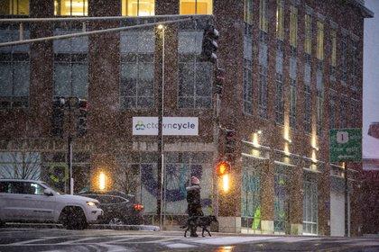 La tormenta en Boston, Massachusetts (Joseph Prezioso / AFP)