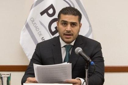 Omar García Harfuch, actual secretario de Seguridad Ciudadana de la Ciudad de México. (FOTO: MOISÉS PABLO /CUARTOSCURO)