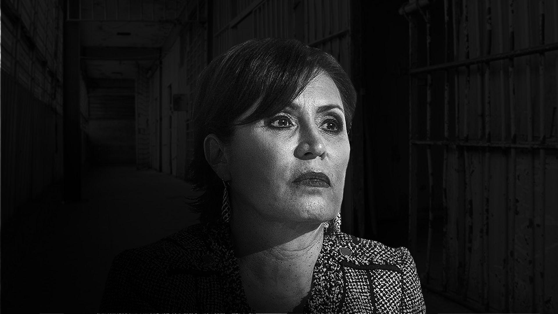 Rosario Robles fue relacionada con una residencia en Coahuila (Foto: Infobae)