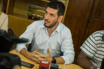 Marcos Ferrer, intendente de Rio Tercero (Foto: La Voz del Interior)