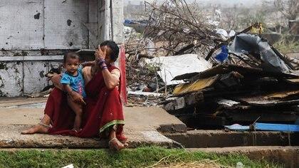 Ciclón Fani (AFP)