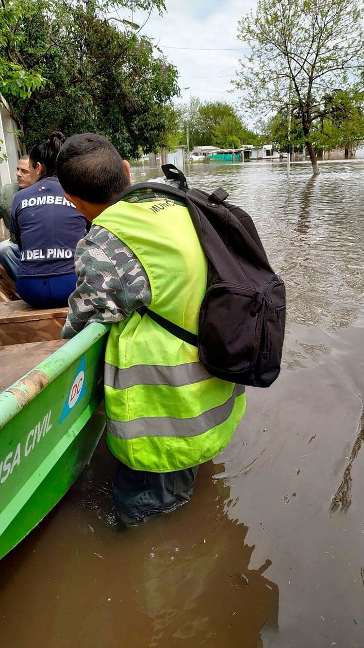 Hay uno 5.000 evacuados en 20 centros de albergue en La Matanza (Crédito: Ministerio de Desarrollo Social de la provincia de Buenos Aires)